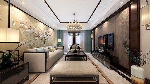 260㎡◣尚郡公寓◥新中式,现代中展现传统的稳重~