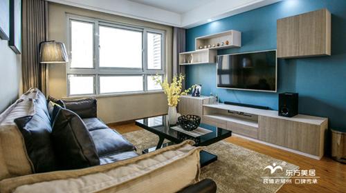 东方美居*晒新家--【锦绣天地】90平米|现代混搭|销售明星的家