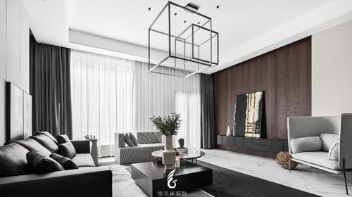『高灰高端设计工作室』——吕涛-总设计师-[中海锦龙湾 380㎡ 别墅]现代