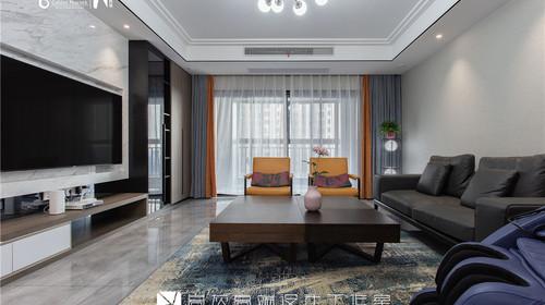 『高灰高端设计工作室』——张连萍-首席计师-[大名城 190㎡大平层]现代轻奢
