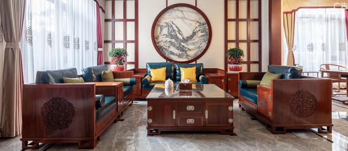 德辉设计: 中海龍湾别墅380平新中式