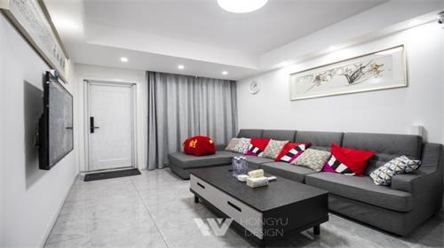 【品质生活 弘宇缔造】常宁公寓110平一度灰的优雅